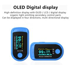 Bluetooth 4.0 Fingertip Pulse Oximeter Monitor