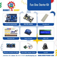 Robot Pi Shop Fun Uno Starter Kit