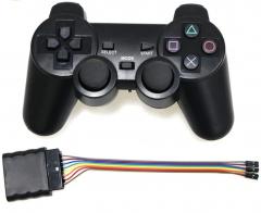 2.4G Wireless joystick with wireless receiver