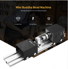 Mini Beads Machine Lathe DIY
