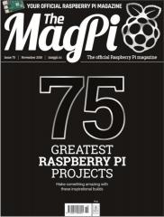 The MagPi magazine #75