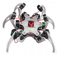Hexapod Spider Six Legs Robot Arm Frame Kits (with servo motors)