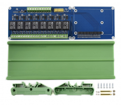 Waveshare Raspberry Pi Expansion Board 8-ch Relay channel for Raspberry Pi A+/B+/2B/3B/3B+
