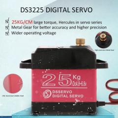 DS3225 Servo Motor 25KG Full Metal Gear