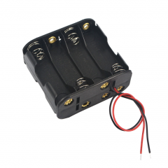 8-AA Battery Holder, Back-to-Back