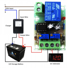 XH-M601 battery charging control board 12V intelligent charger power control