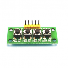 4 Independent Key Button Keypad Keyboard Module