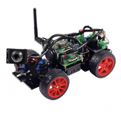 SunFounder Smart Video Car Kit for Raspberry Pi with Android App Compatible with RPi 3 Model B+ B 2B (Pi Not Included)