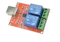 Two Channel 5V Relay Module USB Control