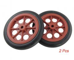 2pcs Wheels Rubber Inner Hole 8mm