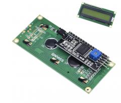 LCD 1602 Module Green Screen IIC/I2C