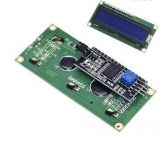 LCD 1602 Module Blue Screen IIC/I2C