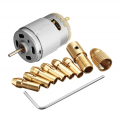 DC 12V 500mA Mirco Motor With 5pcs 0.5-3.0mm Drill