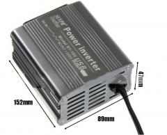 DY-100 100W DC 12V to AC 220V USB Power Inverter