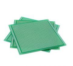 10*10 SINGLE SIDE FIBER GLASS GREEN Board Prototype PCB Universal Board