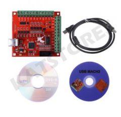 CNC USB MACH3 Breakout Board